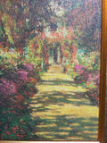 Flower Path Framed Art