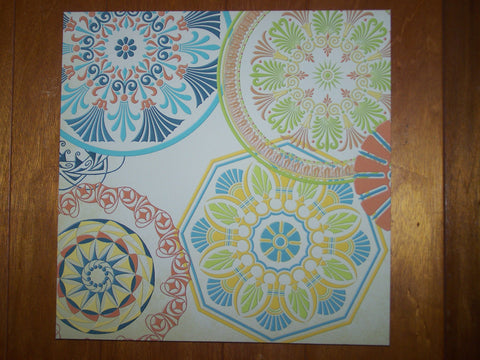 Circle Patterns Painting