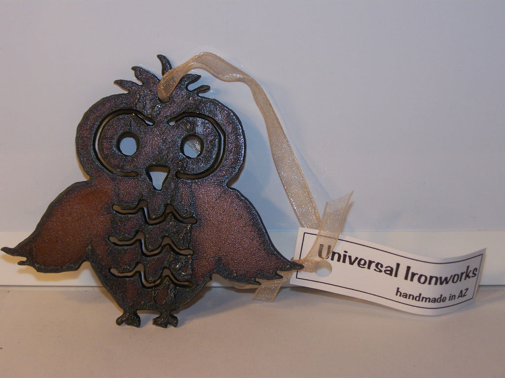 Owl Cut-Out - Metal