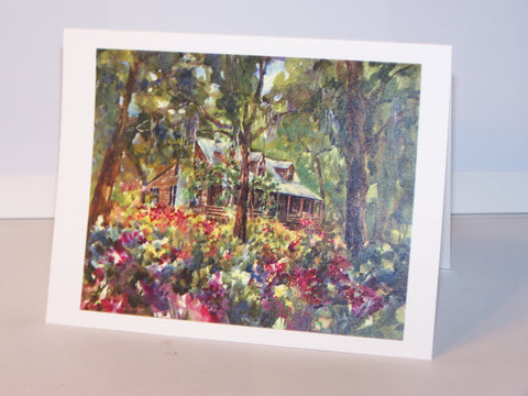 "Any Occasion Card - ""Cottage In The Woods"" Potter"