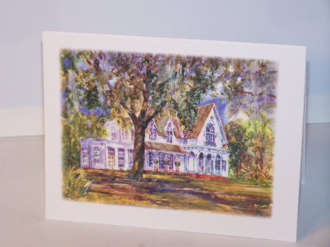 "Any Occasion Card - ""Rose Hill Mansion"" Potter"