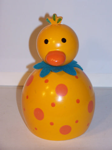 Yellow/Orange Colorful Duck Bank