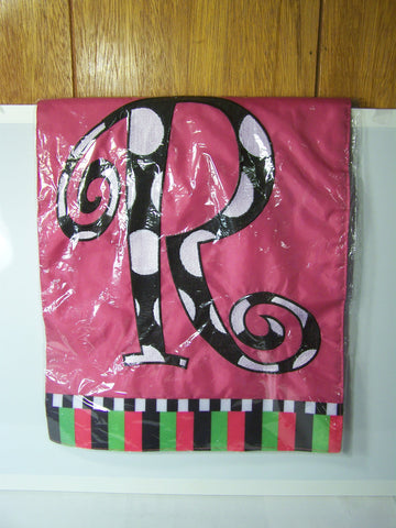 """R"" Decorative Garden Flag"