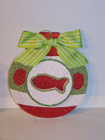 Fish Glitter Ornament
