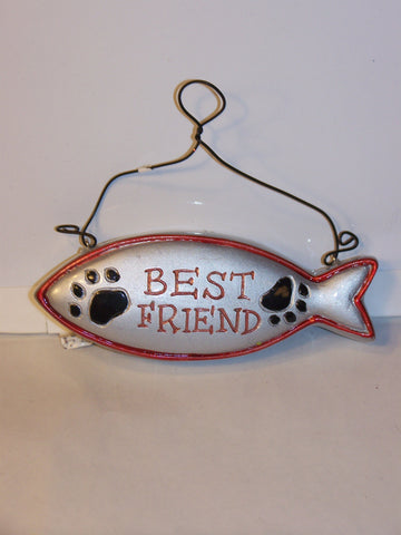 Fish Best Friend Ornament