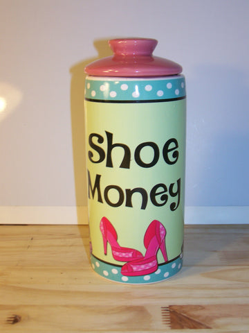 Ceramic Jar - Shoe Money