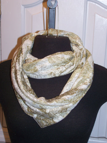 Camouflage Burnout Infinity Scarf