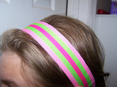 Stripes Unisex Non-Slip Headbands