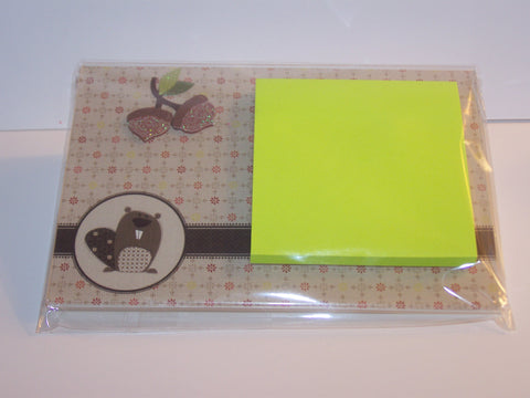 Animal Acrylic Sticky Note Holder
