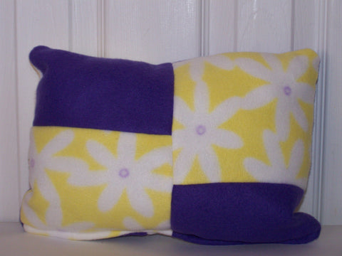 Yellow/Purple Accent Pillow