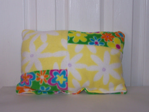 Flower Accent Pillow