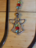 Angel Beaded Bookmark