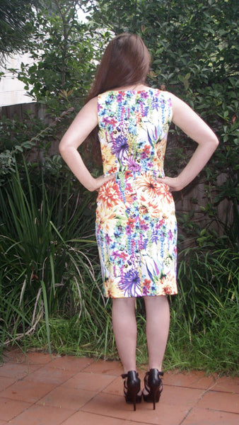 flower-print Airam knee length dress