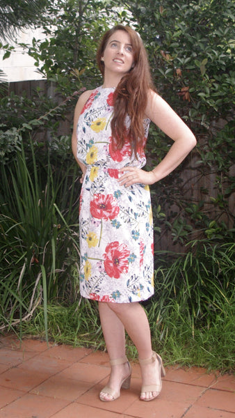 Adalina floral dress