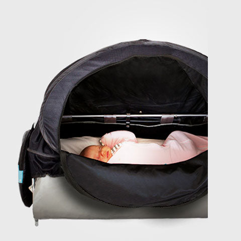 Airline bassinet cover flying