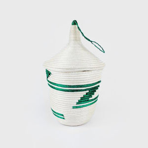 White Lidded Cone