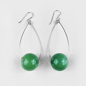 Jade | Glass Earrings