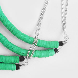 Green  |  Stacked Beads