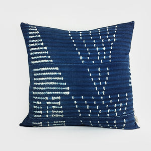 Arrows | Indigo Pillow