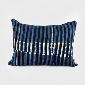 Stripes | Indigo Pillow