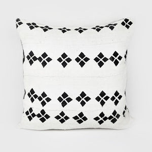 Diamonds | Mud Cloth Pillow