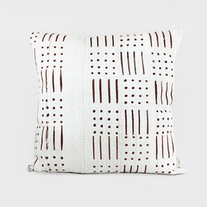 Stripes + Dots | Mud Cloth Pillow