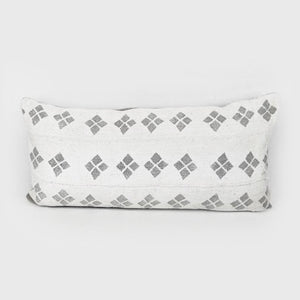 Grey Diamonds | Mud Cloth Pillow