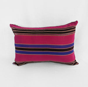 Pink Stripes | Cotton Pillow