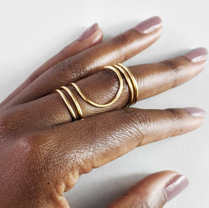 Nandi | Gold Ring