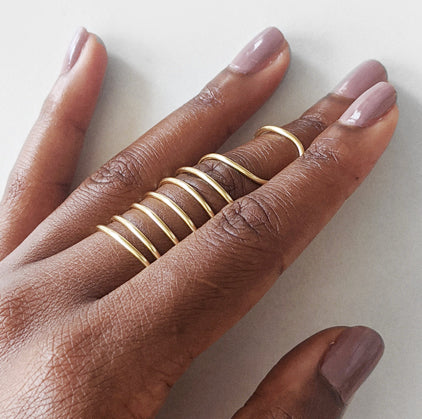Adinkra | Gold Ring
