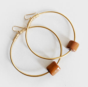 Laterite | Hoop Earrings
