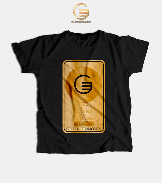 Golden Bar Men's T-Shirts