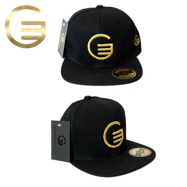 Classic GC Gold On Black Snapback