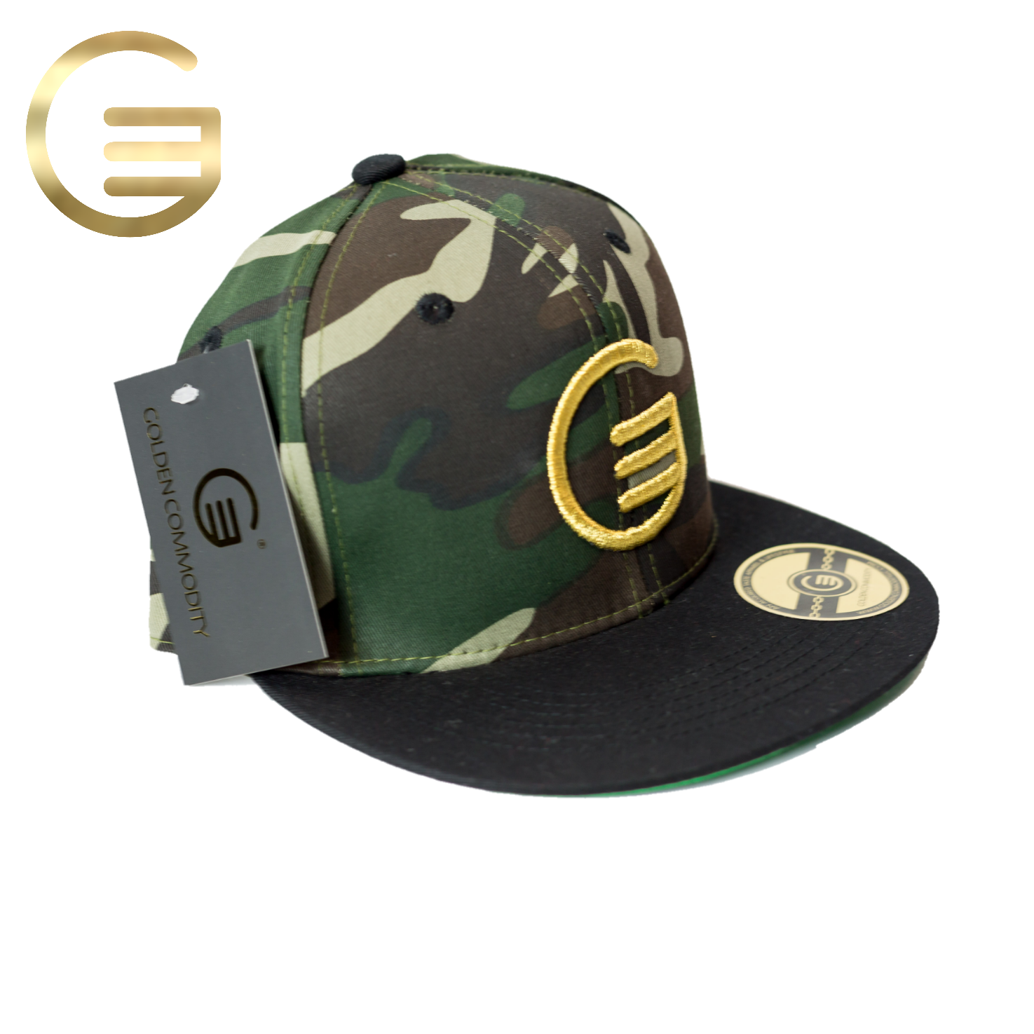 Classic GC Gold On Fatigue Snapback