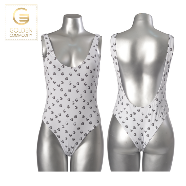"GC Swim Classic ""G"" Print One Piece Swimsuit"
