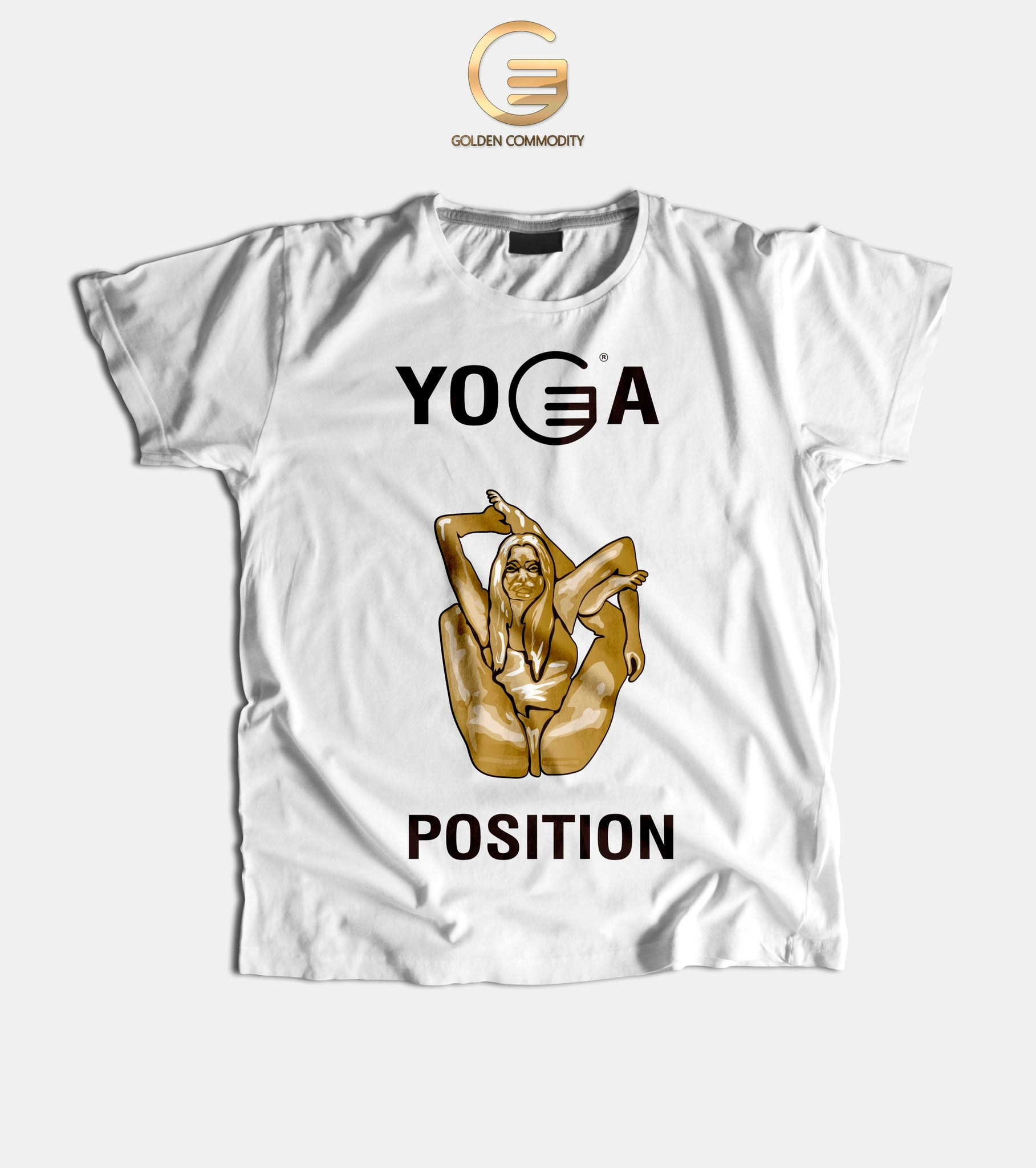 Yoga Position Men's T-Shirts