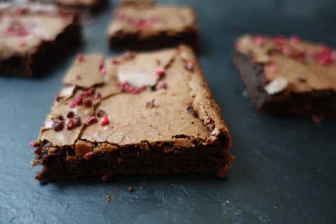Bakery Cottage Valentine Raspberry Brownies