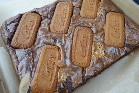 Biscoff Brownie Slab COLLECT ONLY (Saturday 6th June)