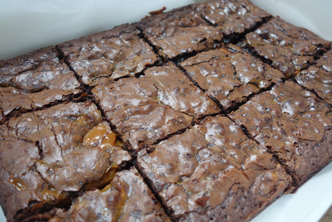 Salted caramel brownies COLLECT THURSDAY