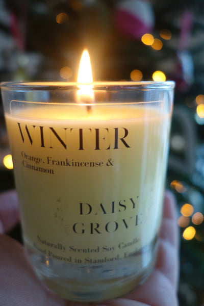 Winter Candle - Orange, Frankincense & Cinnamon