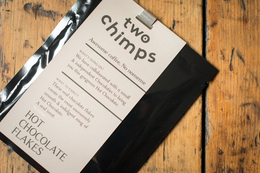 Two Chimps Luxury Hot Chocolate Flakes