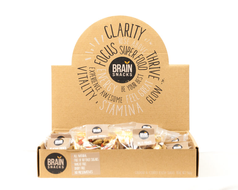 Brains Snacks Box Subscription (8 boxes per month) 15% discount