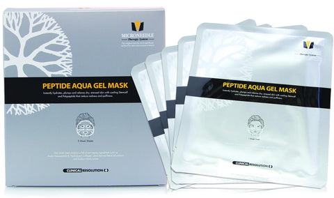 MTS Peptide Hydration Gel Mask Pack of 5