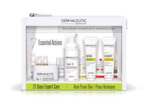 Dermaceutic 21 Days Travel and Trial Packs by Skin Condition