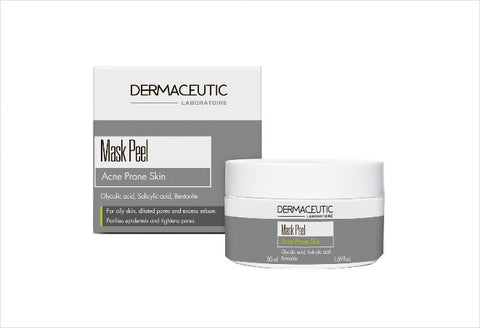 Mask Peel Treatment Acne Prone Skin