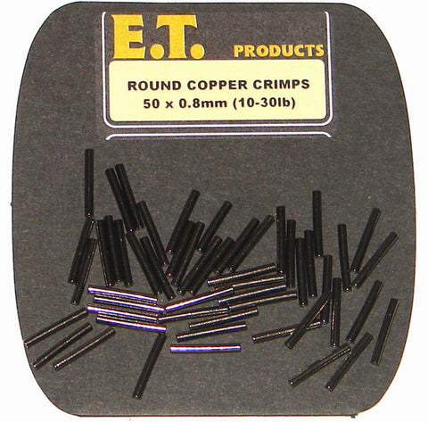E.T. Predator Tackle Copper Single Crimps