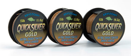 Kryston Quicksilver Gold Leader & Hooklink