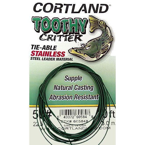 Cortland Toothy Critter 'Tie-Able' Wire Leader