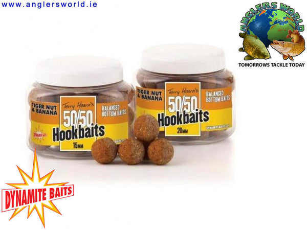 Dynamite Baits 50/50 Balanced Hookbaits - Tiger Nut & Banana