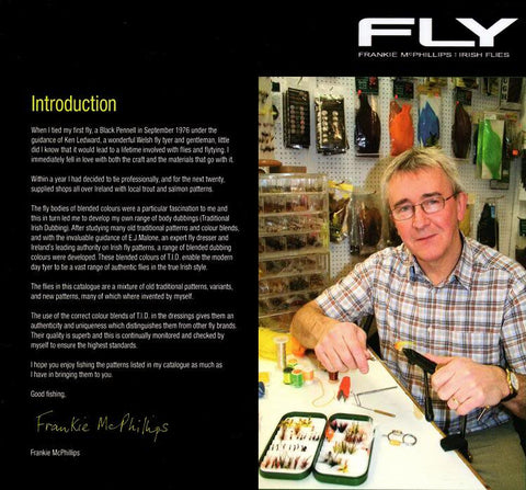 Frankie McPhillips Beginners Guide to Fly Tying DVD